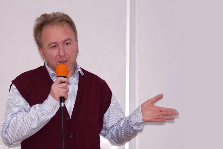 Борис Потятиник на Lviv iCamp 2010