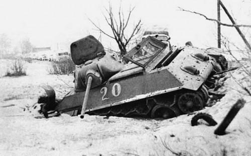 Підбитий танк Т-34