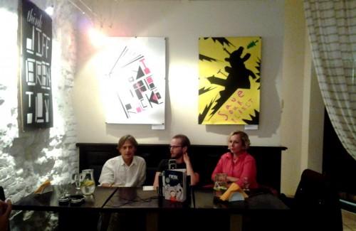 Авторські читання  Фінна-Олє Гайнріха
